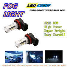 2016 Subaru Impreza Fog Light Bulb Us 32 8 1 Pair Led Fog Light For 2008 2016 Subaru Impreza Wagon White High Power Cree Smd 80w 9006 Lamps Blubs In Car Light Assembly From