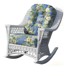 christopher knight home gracie s outdoor wicker rocking chair by spring haven all weather wicker rocking chair