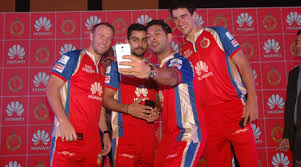huawei jersey. huawei launches 3 new smartphones in india with virat, yuvraj, villiers and strac bangalore. jersey