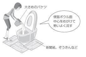 大阪地震で断水した トイレの流し方について意見飛び交うtotoの