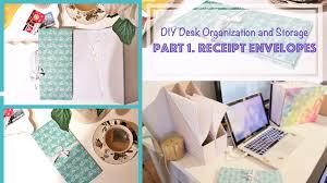 Diy Organization Diy Accordion Book Receipt Envelopes Desk Organization And