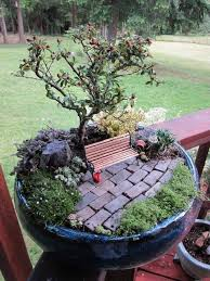 Small Picture 244 best Fairy Garden Ideas images on Pinterest Fairies garden
