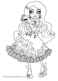 Monster High Just Dance Coloring Pages