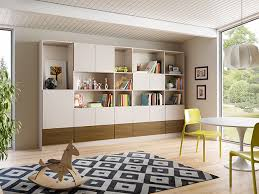 Storage with office space Into Tiny California Closets Sarasota Family Room Storage System Panel Built Simple Ideas For Clutterfree Office Space California Closets