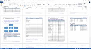 schedule plan template implementation plan template ms word