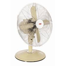 europace erf3121t cream 12in retro desk fan