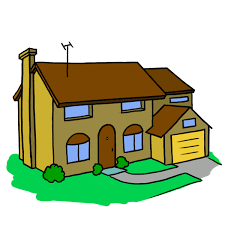 Image result for house cartoon