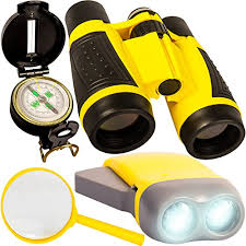 Young Explorer Toys Kit for Playing Outside or in the Yard. 2018 Best Unique Present boys and Amazon.com: Back 2 Nature Outdoor Toy Set - Kids Binoculars