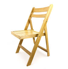 italian wooden folding chair
