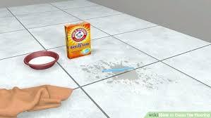 clean tile floors best