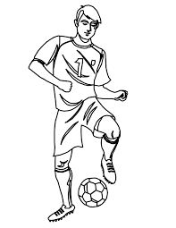 Small Picture Inspiring Soccer Coloring Pages 38 6835
