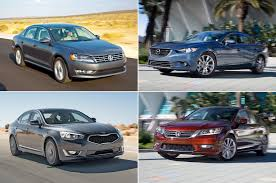 The Quickest Midsize Sedans Tested By Motor Trend
