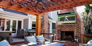 11 best outdoor tvs for your patio in 2018 outdoor televisions at every