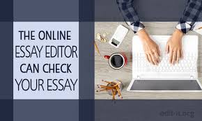 the online essay editor can check your essay