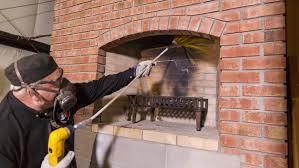 chimney repair houston. Brilliant Chimney Chimney Sweep At Work And Chimney Repair Houston