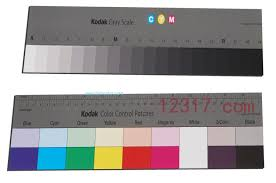Kodak Q 14 Gray Scale Chart Kodak Color Control Patches