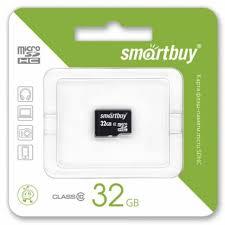 Интернет-магазин <b>Карта памяти Smartbuy</b> MicroSDHC 32Gb ...