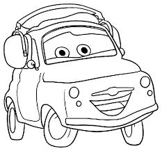 Bello Disegni Da Stampare E Colorare Di Auto Da Corsa Migliori