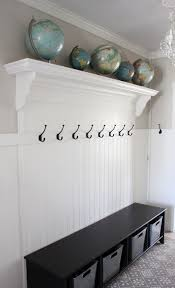 Beadboard Entryway Coat Rack Entryway Redecorating Ideas Itsy Bits and Pieces 6