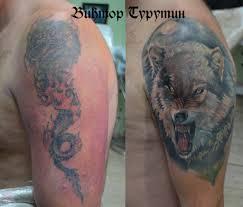 перекрытие Cover Up тату виктор турутин сделать тату в москве