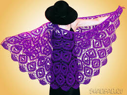 Free Crochet Shawl Patterns Interesting Design