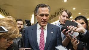 Trump Blasts Romney Over Impeachment Vote : NPR