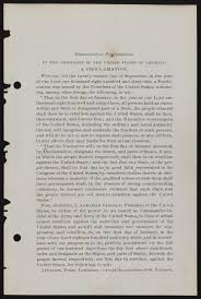 the first edition of abraham lincoln s final emancipation the first edition of abraham lincoln s final emancipation proclamation library of congress
