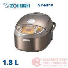Nồi cơm điện cao tần áp suất ZOJIRUSHI NP-NF18 1.0 lít nội đại Nhật 94% màu  nâu 2nd_Nồi Cơm Cao Tần Áp Suất_Nồi Cơm Đã Qua Sử Dụng - Trưng bày_Nồi Cơm