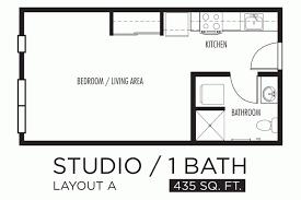 Apartment. Artistic Decorating Studio Apartments Floor Plans
