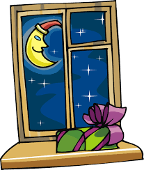 school window clipart. Free Christmas Eve Night Sky Looking Out Of A Window Clip Art School Clipart