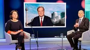Jun 18, 2021 · 18.06.2021, 07:51 uhr internetstar enttäuscht: Wdr Europaforum Das Erste Triell Mit Baerbock Laschet Und Scholz Ard Mediathek