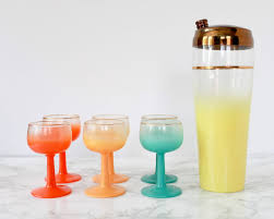 this dc cocktail enthusiast s huge vintage glassware collection is gorgeous and for