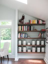 Wall Shelving For Living Room Utilize Spaces With Creative Shelves Hgtv