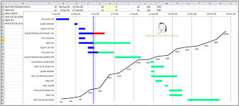Level 2 Gantt Chart Excel Gantt Basic W Progress Advanced Planning Analytics