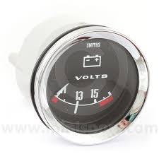 bv2220 00c smiths voltmeter classic mini parts & spares mini sport Smiths Fuel Gauge Wiring Diagram smibv2220 00c smiths classic voltmeter, 52mm gauge with black face and chrome bezel Fuel Gauge Problems