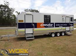 hire office work caravans site office hire and caravan rentals