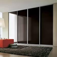 sliding wardrobe doors spr black glass domalti2