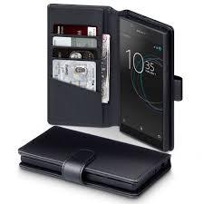 sony xperia l1. sony xperia l1 genuine leather wallet case