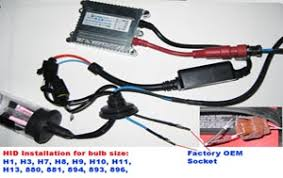 hid conversion xenon light kits bulbs  installations guides hid installation of h1 h3 h7 h8 h9 h10 h11 h13 880 881 884 893 896