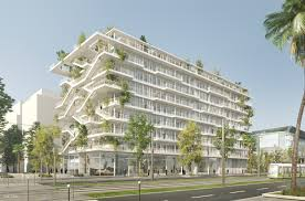 green office building. Wonderful Building NLA Reveals Plans For OpenConcept Green Office Building In FranceCourtesy And R