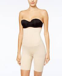 women seamless high waist trainer butt lifter panty tummy tummy control underwear body shaper lace 4 steel boned thigh slimmer