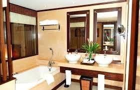 corner double sink vanity furniture inspiring bathroom with drop in ceramic on granite for dimensions