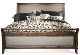 King Size Platform Bed Frame Fabric Sleigh Bed Frame Sleigh Bed With ...