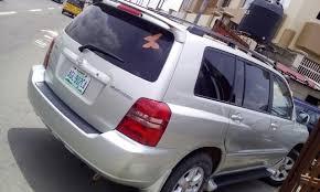 Registered(nigerian Used) Toyota Highlander (SILVER) Year: 2004 ...