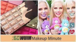 makeup revolution rose gold chocolate palette storybook cosmetics x care bears