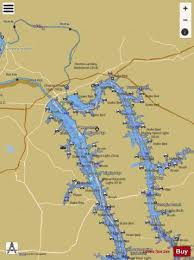 Cumberland River Charts Cumberland River Mile 3 To Mile 75 Marine Chart
