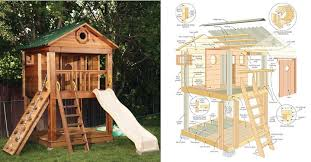 free wooden playhouse plans pdf duck flat boat