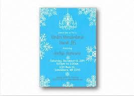 Snowflake Birthday Invitations Amazon Com Winter Wonderland Snowflake Sweet 16 Printed