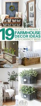 19 diy farmhouse decor ideas to style your fixer upper on a budget