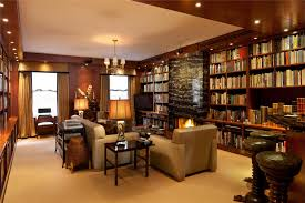 modern private home office. Modern Private Library Photo - 8 Home Office N